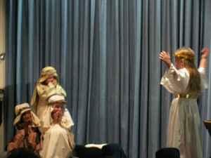 The Sunday School children put a lot of work into the annual Christmas play!
